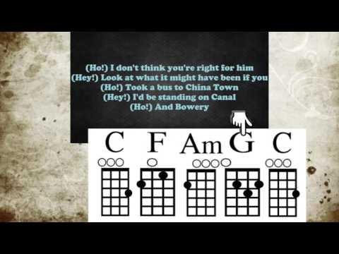 Hey Ho   Uke with chord guide