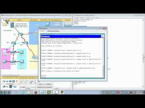 Packet Tracer Final CCNA 2 R&S Version 5.0