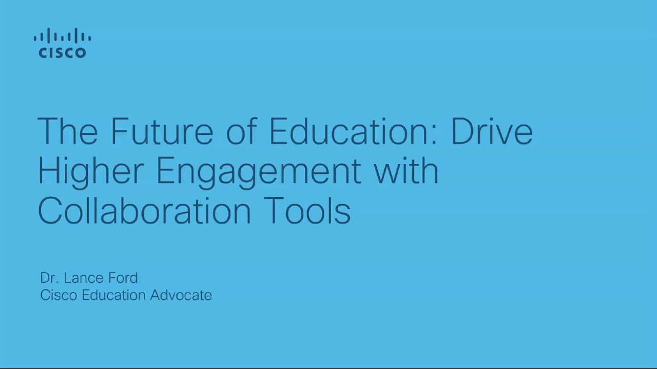 Building the foundation for the future of education | Welcome to the