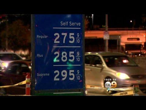 Gas Prices Continue Dive As Crude Oil Falls Below $50 Per Barrel