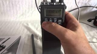 icom ic a20 vhf air band radio