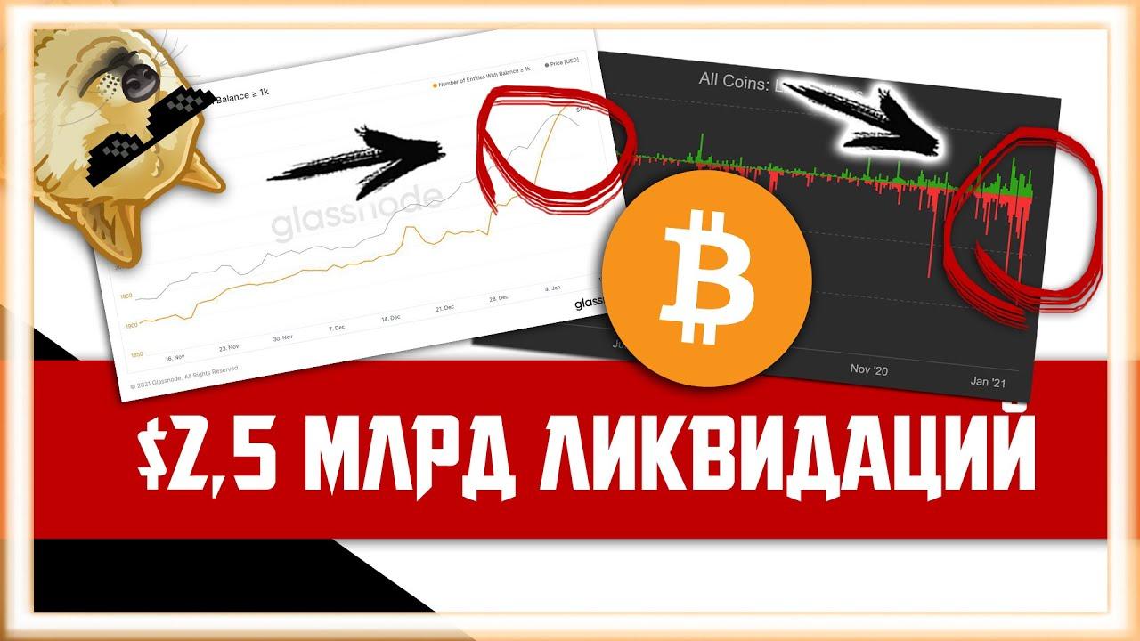 3 ПРИЧИНЫ: ПОЧЕМУ ДНО ПРОЙДЕНО | Биткоин Прогноз Крипто Новости |Bitcoin BTC Как заработать 2021 ETH