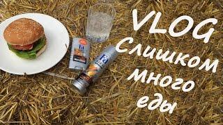 Бургер-VLOG /СЛИШКОМ МНОГО ЕДЫ/ Летний пикник с FA men
