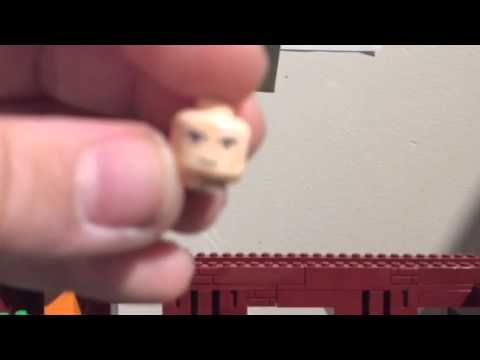 Lego Custom Characters: Barbarian King. Clash Of Clans.