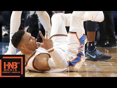 Oklahoma City Thunder vs Denver Nuggets Full Game Highlights / March 30 / 2017-18 NBA Season