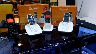 SIEMENS Gigaset A590+A490 Duo+A490 เชื่อมต่อกัน 3 ชุด 5 เครื่อง