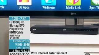 LG 1080p Network-Ready Blu-ray/DVD Player