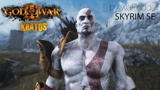 Skyrim SE God of War Kratos Mod