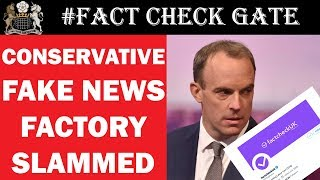 Conservatives Deceive British Public With Fake Fact Account