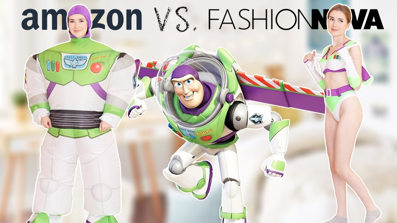fashionnova VS. amazon costumes  *who did it better?!*