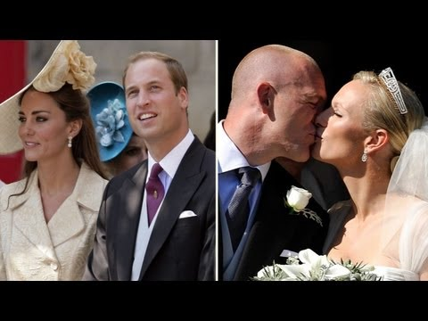 Kate Middleton and Prince William at Zara Phillips's Wedding in Scotland!