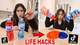 I Tested VIRAL TikTok Life Hacks to see if they work! *PART 14*