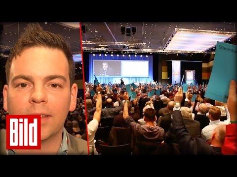BILD beim AFD-Parteitag - Kein Befreiungsschlag für Frauke Petry