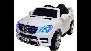 Обзор электромобиль mercedes ml 350