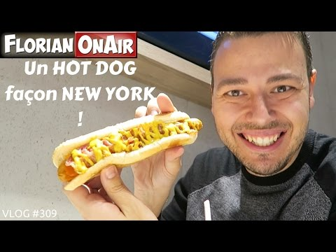 Un HOT DOG façon NEW YORK - VLOG #309