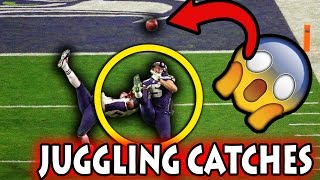 Greatest Juggling Catches in Football History