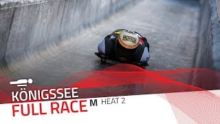 KÖnigssee | BMW IBSF World Cup 2019/2020 - Men's Skeleton Heat 2 | IBSF Official