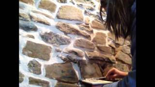 Pointing A Stone Wall In Lime Mortar thumbnail