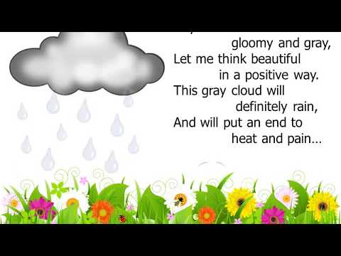 Positive Imagination - Gray Clouds - Poem & Animation
