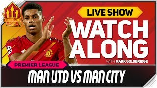 Manchester United vs Manchester City With Mark Goldbridge