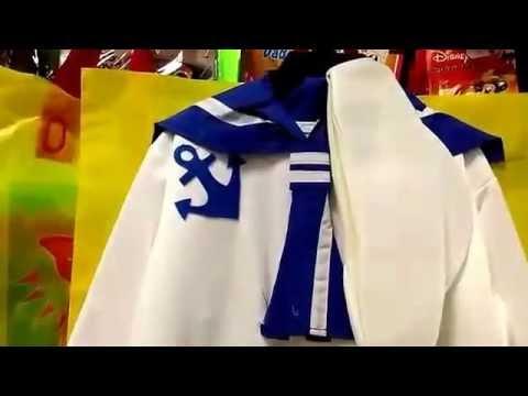 Disfraz de marinero para beb youtube - Disfraz de marinero casero ...
