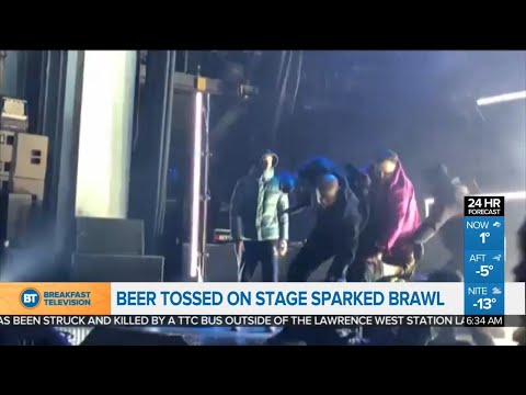 Brawl breaks out at Pusha T concert, and other top stories
