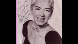 Dorothy Squires sings If i never sing another song(Shirley Bassey/Matt Monro)