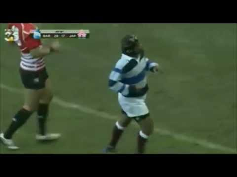 Great French flair try by the French Barbarians