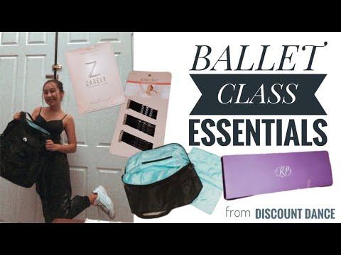 Ballet Class Essentials (dancewear, Accessories, And More!)