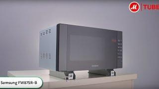 Видео о встраиваемой микроволновой печи Samsung FW87SR-B