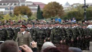 DEFILARE Juramant Militar Caracal 25 octombrie 2008