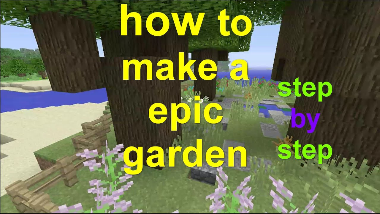 How To Make A Book Minecraft Xbox : Minecraft xbox how to make an epic garden easy youtube