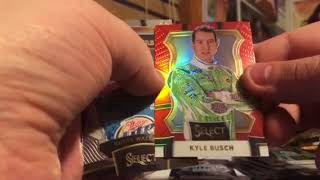 2017 Panini Select Racing Box Break Review
