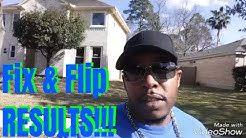 Houston TX Fix & Flip Walkthrough | Spring TX | Real Estate Investing 2019