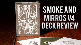 Deck Review - Smoke And Mirros V4 Playing Cards [Contest]
