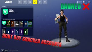 Don't Crack or Buy Fortnite Accounts | Fortnite Battle Royale
