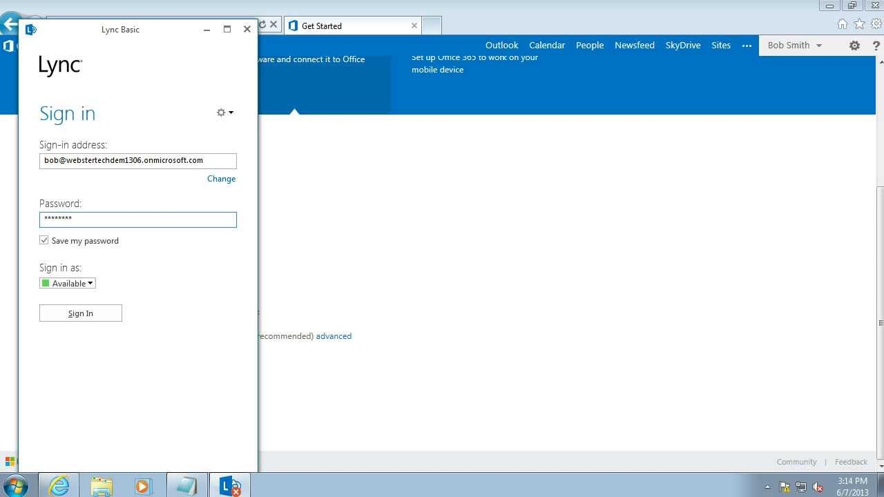 Getting Started - Office 365 - Install Lync