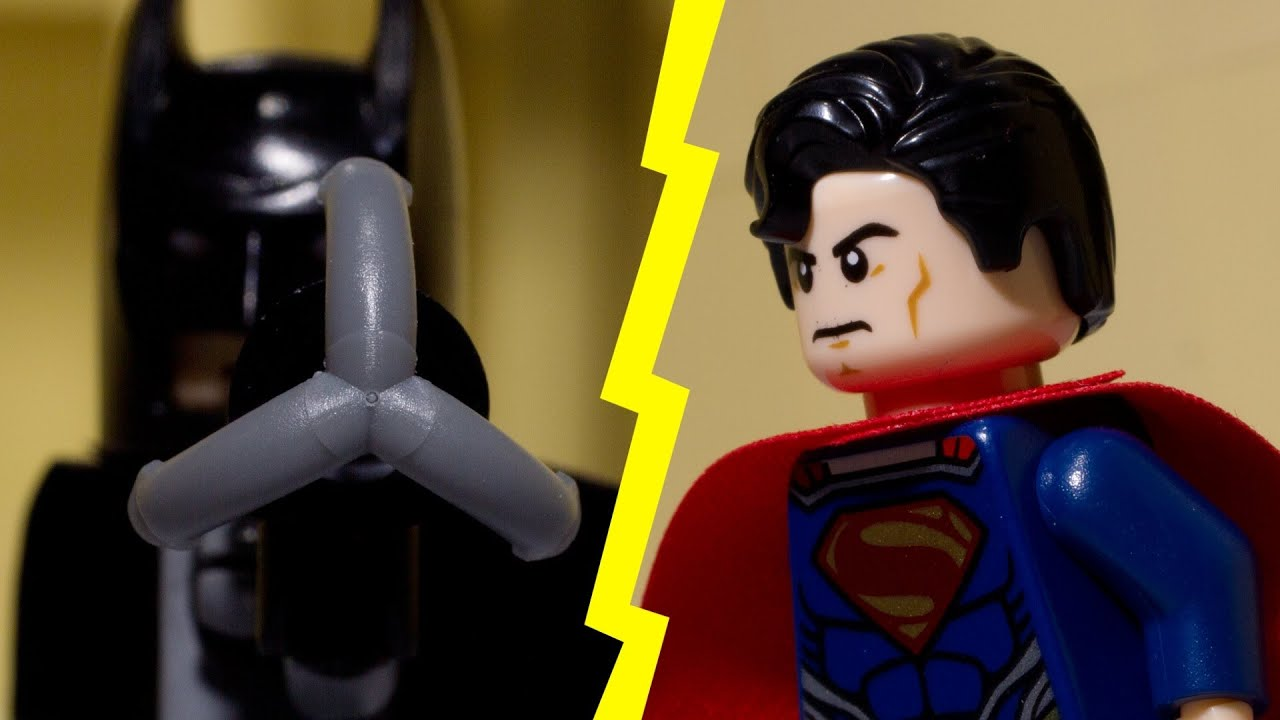 Lego Batman Vs Lego Superman Youtube