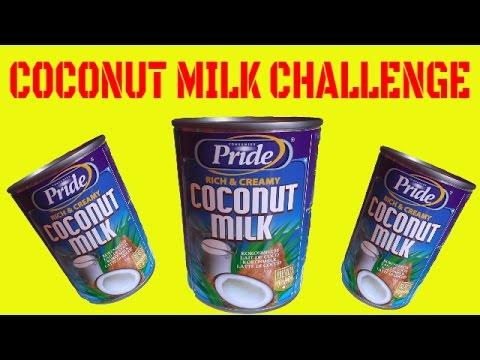 coconut milk challenge