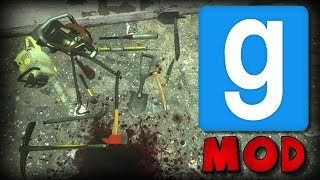 Garry's Mod: No More Room In Hell Melee Weapons Mod Showcase