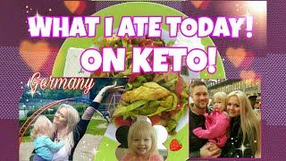 WHAT I EAT IN A DAY in Germany - KETO LOW CARB - FRIED CHICKEN - Everyday Life