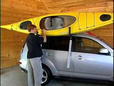 Malone Telos Side Mount Kayak Loader Youtube