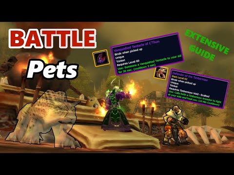 Battle Pets in Classic WoW (Extensive Guide)