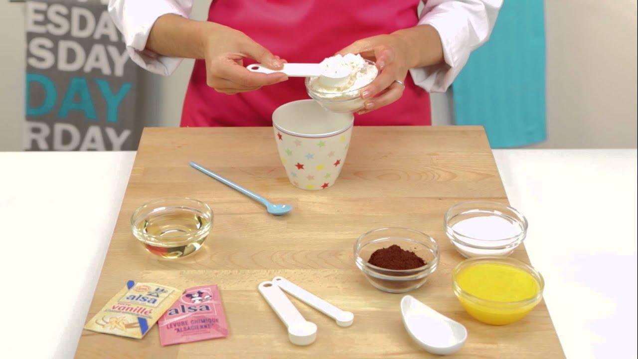Mug Cake Au Caramel
