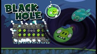 BLACK HOLE! - Bad Piggies Inventions