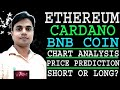 ETHEREUM, CARDANO, BINANCE COIN PRICE PREDICTION, CHART ANALYSIS