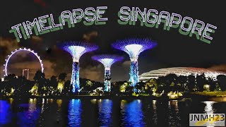 TIMELAPSE The Little RED DOT Singapore