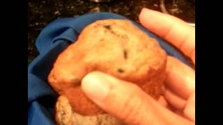 Mrs.love's Moist Blueberry Banana Muffins (showing Off)