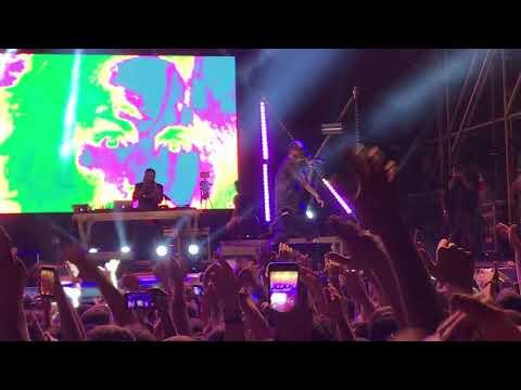 Mic Check (feat. Salmo) - Noyz Narcos @Villa Ada Roma 15-06-18