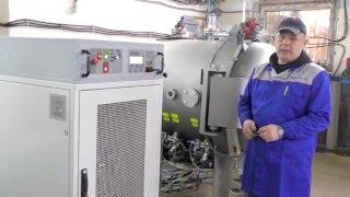 Установка для определения давления взрыва и взрывонепроницаемости(Испытательная лаборатория взрывозащиты ПРОММАШ ТЕСТ(ГК